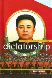 Cover of: Dictatorship (Political Systems of the World)