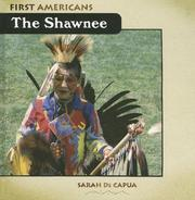 Cover of: The Shawnee (First Americans)