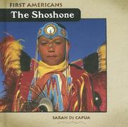 Cover of: The Shoshone (First Americans)