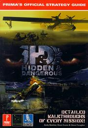 Cover of: Hidden and Dangerous