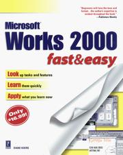 Cover of: Works 2000 Fast & Easy