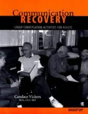 Cover of: Communication recovery