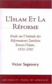 Cover of: L'Islam et la Raforme