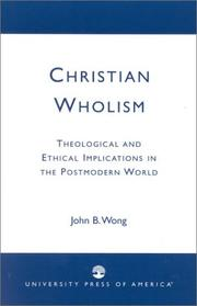 Cover of: Christian Wholism