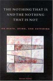 Cover of: The Nothing That Is and the Nothing That Is Not | Steven Carter
