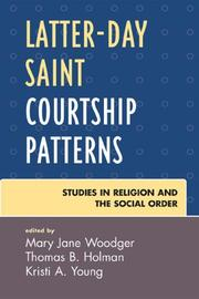 Cover of: Latter-day Saint Courtship Patterns | Woodger Mary