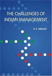 Cover of: The Challenges of Indian Management (Response Books) (Response Books)