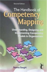 Cover of: The Handbook of Competency Mapping | Seema Sanghi