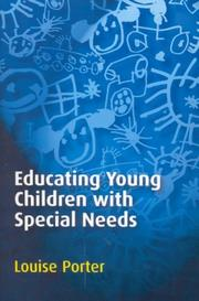 Cover of: Educating Young Children with Special Needs