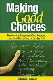 Cover of: Making Good Choices