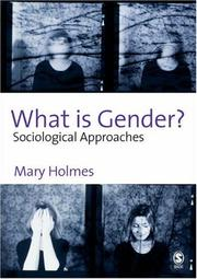 Cover of: What is Gender?