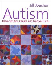 Cover of: Autism | Jill M. Boucher