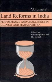 Cover of: Land Reforms in India |