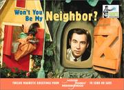 Cover of: Won't You Be My Neighbor? Magnetic Postcards