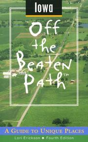 Cover of: Iowa Off the Beaten Path | Tracy Stuhr