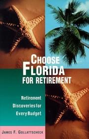 Cover of: Choose Florida for Retirement
