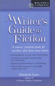 Cover of: A writer's guide to fiction
