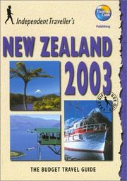 Cover of: Independent Travellers New Zealand 2003 | Thomas Cook Publishing