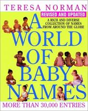 Cover of: A world of baby names