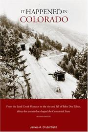Cover of: It Happened in Colorado, 2nd (It Happened In Series)