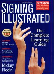 Cover of: Signing illustrated
