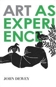 Cover of: Art as experience