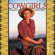 Cover of: Cowgirls 2002 Wall Calendar | Robert Dawson