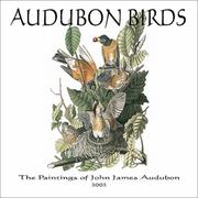 Cover of: Audubon Birds 2002 Wall Calendar