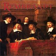 Cover of: Rembrandt 2002 Wall Calendar