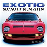 Cover of: Exotic Sports Cars 2002 Wall Calendar