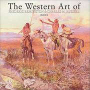 Cover of: Western Art of Remington & Russell 2002 Wall Calendar