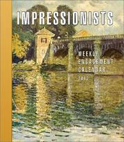 Cover of: Impressionists 2002 Weekly Engagement Calendar |