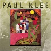 Cover of: Klee, Paul 2002 Wall Calendar