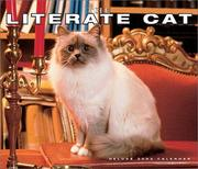 Cover of: Literate Cat 2002 Deluxe Wall Calendar |
