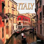 Cover of: Italy 2002 Wall Calendar |