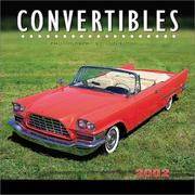 Cover of: Convertibles 2002 Wall Calendar