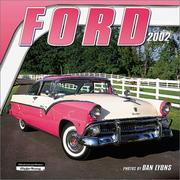 Cover of: Ford 2002 Wall Calendar