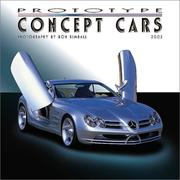 Cover of: Prototype Concept Cars 2002 Wall Calendar