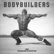 Cover of: Bodybuilders 2003 Calendar