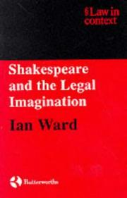 Cover of: Shakespeare and the legal imagination