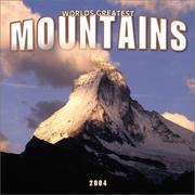 Cover of: Mountains, World