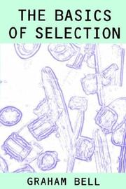 Cover of: The basics of selection