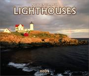Cover of: New England Lighthouses Deluxe 2004 Calendar |