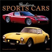 Cover of: Italian Sports Cars 2004 Calendar