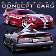 Cover of: Prototype Concept Cars 2004 Calendar