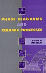 Cover of: Phase diagrams and ceramic processes