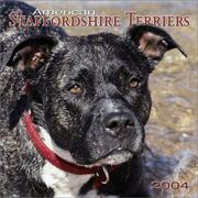 Cover of: American Staffordshire Terriers 2004 Calendar |