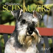 Cover of: Miniature Schnauzers 2004 Calendar |