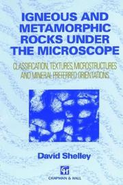 Igneous and Metamorphic Rocks under the Microscope