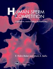 Cover of: Human Sperm Competition | R.R. Baker
